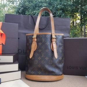 Louis Vuitton mini Bucket Monogram Genuine